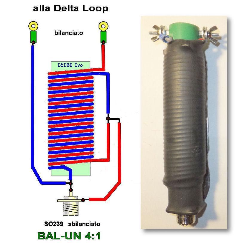 4 1 balun construction diagram windom antenna construction