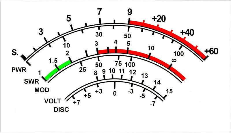 ftmeter analogico per yaesu ft897 e 857 by i6ibe