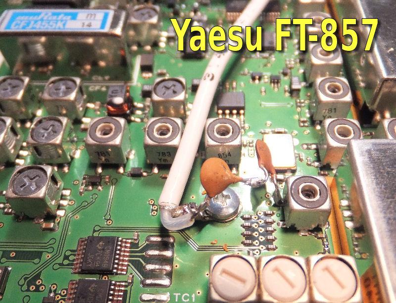 Panadapter Yaesu FT817 897 857 rtl2832 e4000 dongle i6ibe